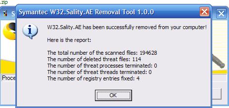 kaspersky sality removal tool download